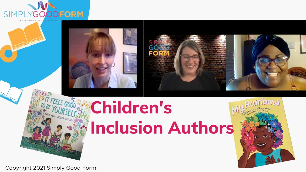 Children's Inclusion Authors Book Talk - Why you read