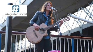 Awesome Guitar Cover Fever by Susana Silva Busking - Music Street performance