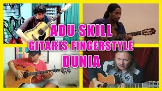 Download lagu ALIP BA TA vs MASTER FINGERSTYLE DUNIA (Michael Jackson - Black or White) Fingerstyle Cover