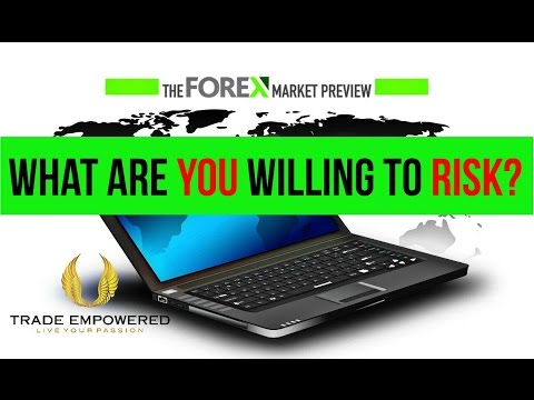 The Forex Market Preview - What Are You Willing to Risk?