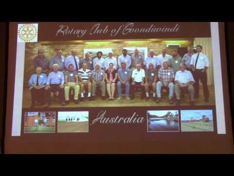 Australia Group Study Exchange-TeamPink, Rotary Club of York, PA, Meeting 5/11/2016
