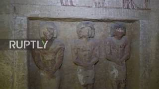 Archaeologists discover 4,400-year-old tomb in Egypt