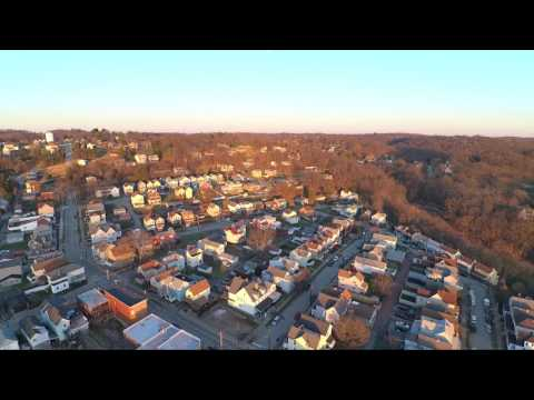 Droning Over Pitcairn, PA