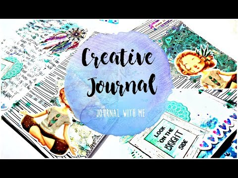 Creative Journal Page Process: Journal With Me : Session 1