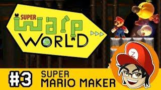 Super Warp World Blind Speedrun (World 4)  | Super Mario Maker