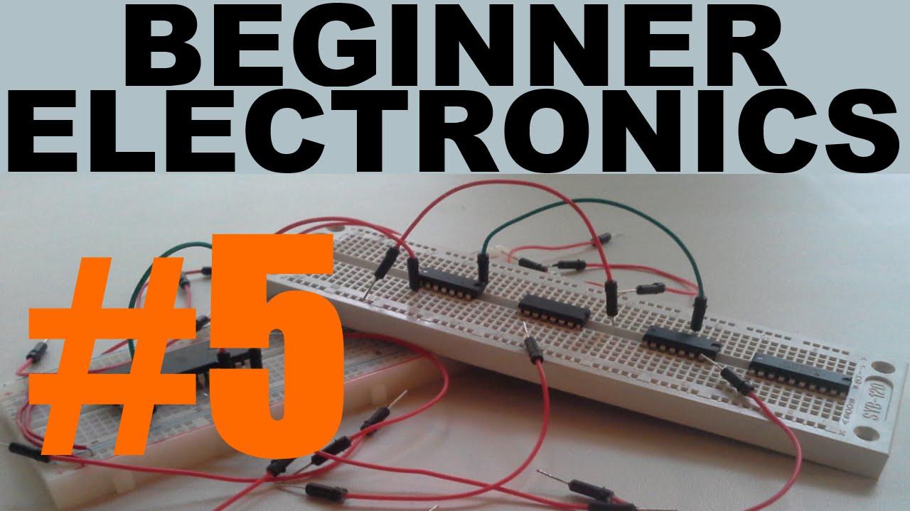 Beginner Electronics - 5 - Resistors