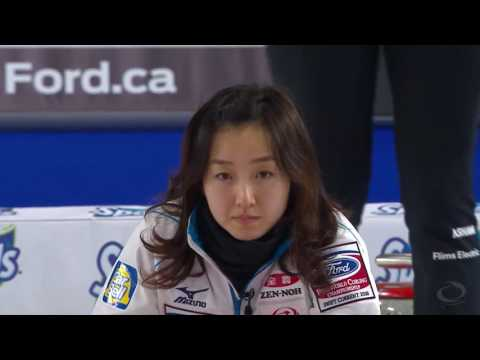 CURLING   SUI JPN World Women's Chp 2016   Gold