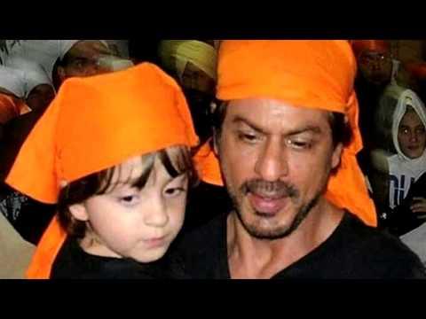 Shahrukh Khan With Abram Visited Swarn Mandir (Golden Temple) Darbar Saheb