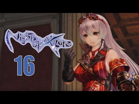Nights Of Azure Part 16 - PS4 Let's Play Walkthrough - The Black Book Is Gone!?