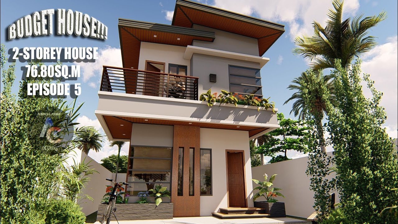 Download Low cost 2-storey House Design(Budget House)