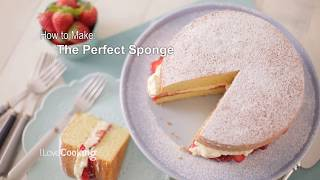 How To Make The Perfect Victoria Sponge
