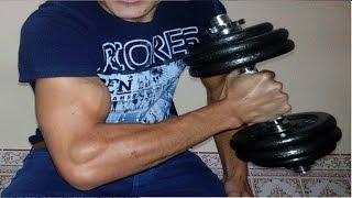 Biceps Workout - 16 Years Old BodyBuilder