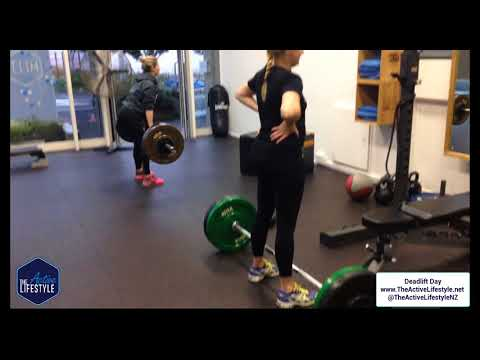 DEadlift Day at the active lifestyle