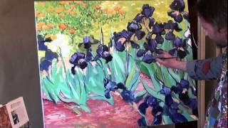 video igor sakharov peintre