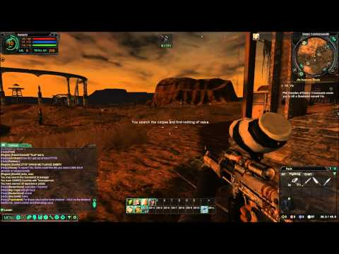 Fallen Earth gameplay