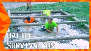 OVERLEVEN OP HEFTIG PARCOURS: WIE WINT DE SURVIVAL RUN? | THE BATTLE | ZAPPSPORT
