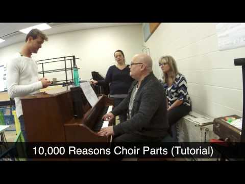 10,000 Reasons Choir Parts Tutorial