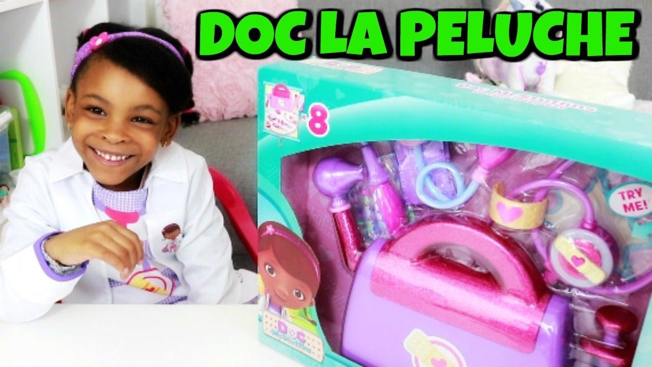Transformation doc la peluche et la malette du docteur jouet disney youtube - Docteur la peluche malette ...