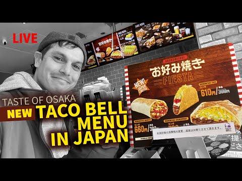 Japan's TACO BELL Okonomiyaki Special Burrito Experience