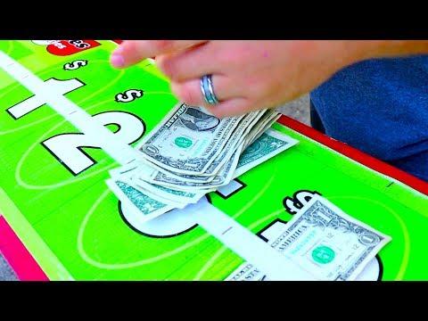 Winning Money At The Carnival Money Wheel!