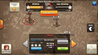 30-0 PERFECT WAR CLASH OF CLANS!!!