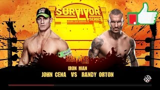[WWE 2K 15] John Cena vs Randy Orton : Iron Man Match [FR]