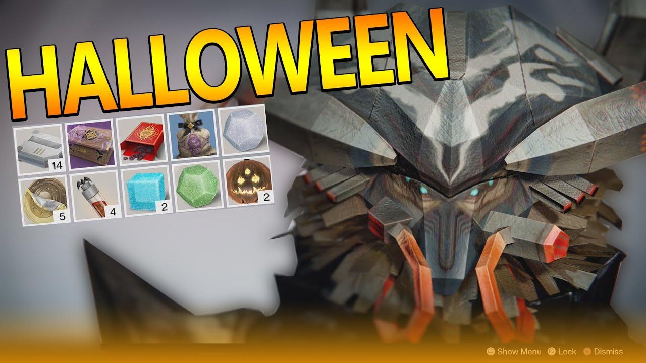 Destiny: HALLOWEEN EVENT!! New Emotes, Masks Etc! - YouTube