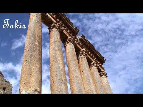 Temple of Jupiter in Baalbek - Lebanon