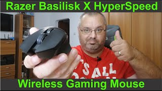 Razer Basilisk X HyperSpeed - unboxing video !