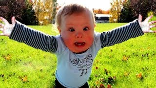 Funniest Baby Video - Try Not To Laugh Baby #7