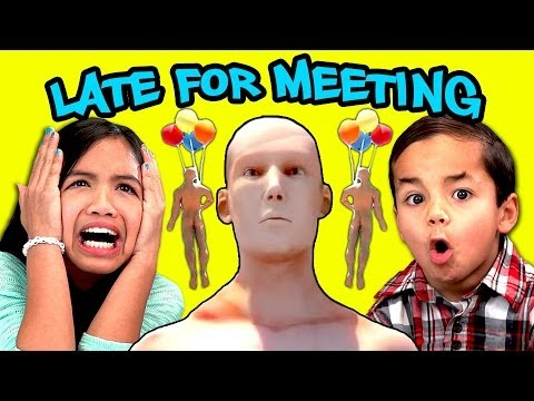 Kids React to late for meeting