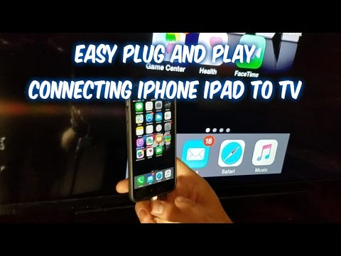 how to connect iphone to tv how to connect iphone to tv screen with wire cable 18685
