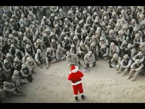 a soldier silent night