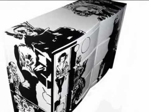 MODERN FURNITURE POP ART DRESSER By DSarte