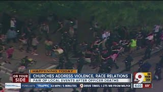 Local churches address violence, race relations