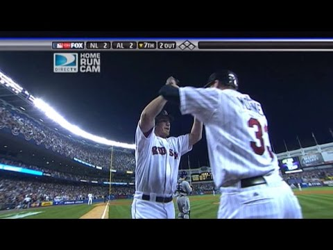 2008 ASG: Drew ties the game with a two-run homer