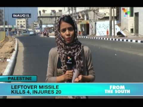 Palestine: Unexploded Missile Kills 4, Injures 20
