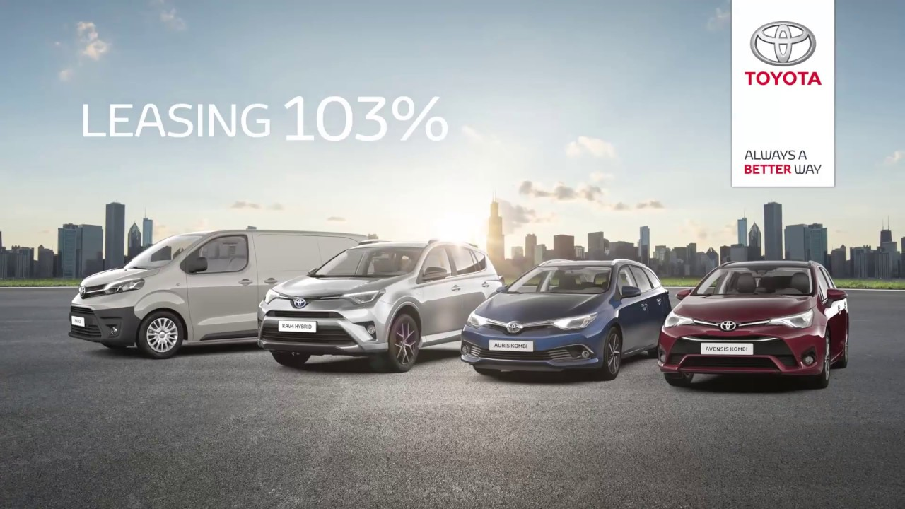 Poznaj Toyotę Proace i inne modele w leasingu 103%
