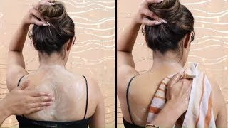How To Remove Full Body SUNTAN At Home | DE-TAN At Home | SunTan Removal | Super Style Tips
