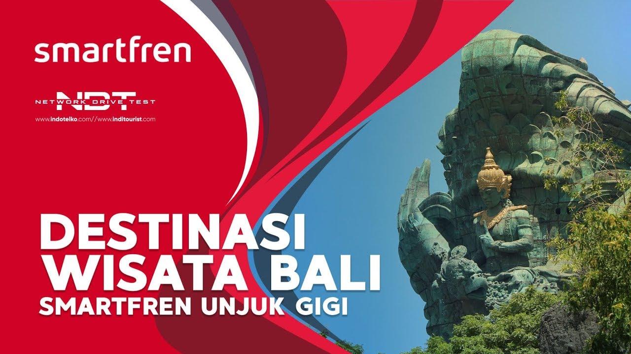Destinasi Wisata Bali Smartfren Unjuk Gigi
