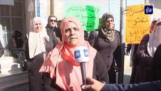 وقفة احتجاجية للعاملين بالفئة الثالثة في وزارة التربية (3/12/2019)