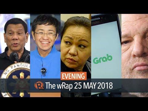 Duterte on women, Rappler's awards, Weinstein surrenders | Evening wRap