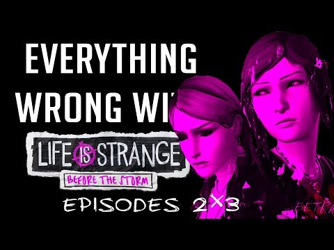 GamingSins: Everything Wrong With Life is Strange | Before the Storm - Episodes 2 & 3 thumbnail