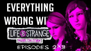 GamingSins: Everything Wrong With Life is Strange | Before the Storm - Episodes 2 & 3