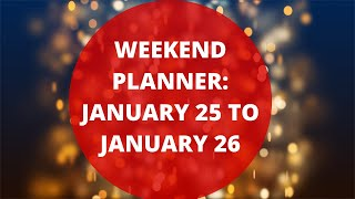 Weekend Addaa Episode 25 : Your Weekend Plan For Jan 25 To Jan 26
