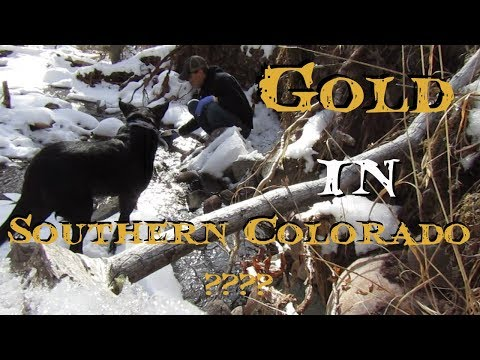 Gold Panning - Gold in Southern Colorado?