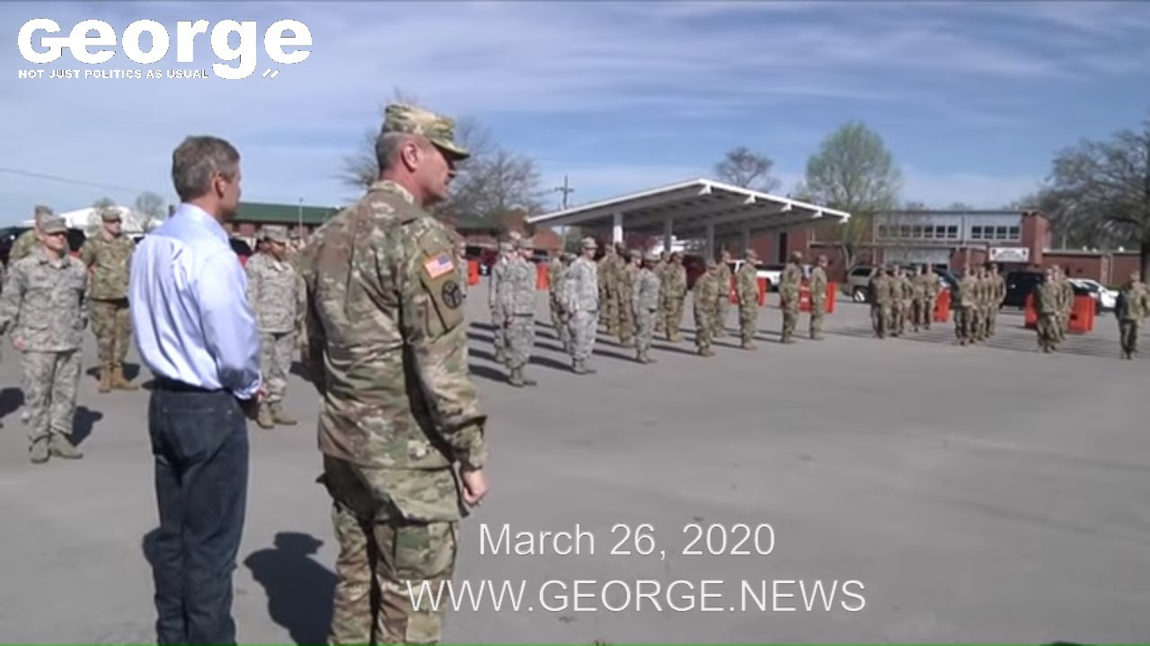 Tennessee National Guard response to the COVID-19 pandemic, March 26, 2020 17:48 EDT