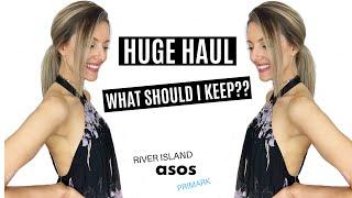 HELP ME CHOOSE?! Summer 2019 try on haul | ASOS, river island, new look, primark | Dr Sarah Nicholls