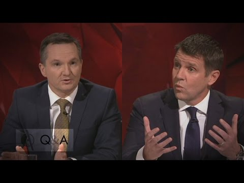 'Who's to say it can't be more?': Mike Baird and Chris Bowen debate refugee numbers