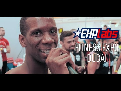 Fitness Expo Dubai | EHPlabs on Tour!